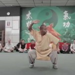 Master Shi De Shan Demonstrates Taiji Chuan